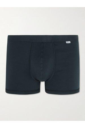 Schiesser Ribbed Stretch-Cotton Jersey Boxer Briefs