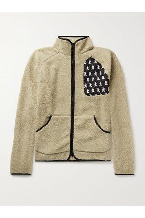 District Vision Greg Shell-Trimmed Fleece Jacket