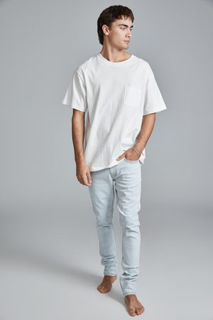 Cotton On Men Super Skinny Jean - Light blue