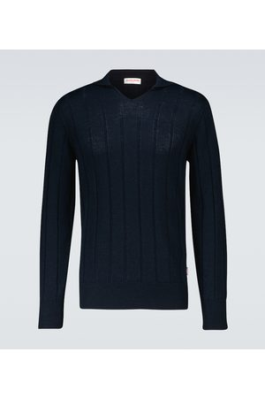Orlebar Brown Men Sweaters - Hedley ribbed sweater