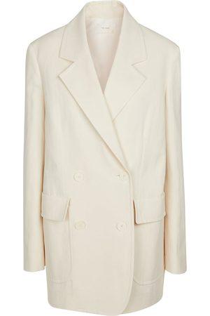 The Row Tihana cotton and linen blazer