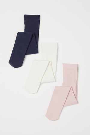 H&M 3-pack Fine Knit Tights