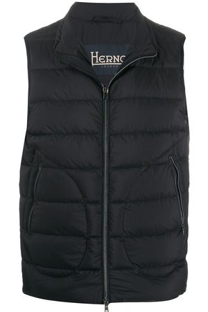 HERNO Men Gilets - Zipped gilet jacket