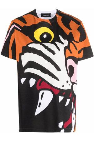 Dsquared2 Tiger-print T-shirt