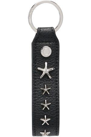 Jimmy Choo Star-stud detail keyring