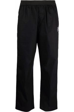 Karl Lagerfeld Embroidered autograph pyjama bottoms