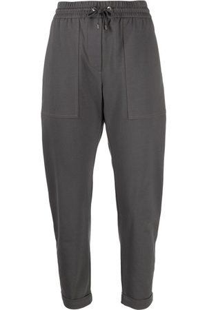 Brunello Cucinelli Women Joggers - Cropped track pants