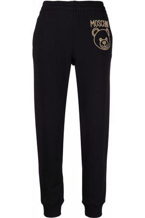 Moschino Studded Teddy Bear track pants