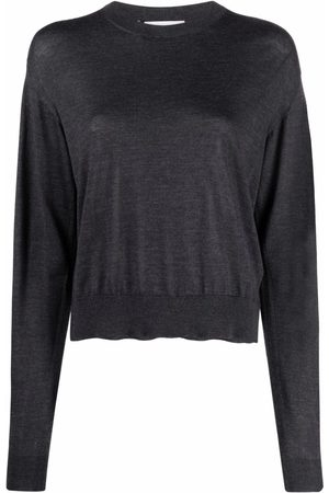 Jil Sander Ribbed-knit long-sleeved sweater