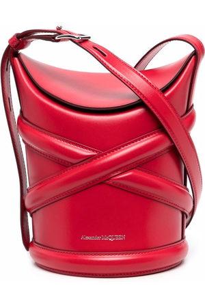 Alexander McQueen The Curve bucket bag