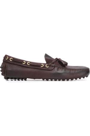 CAR SHOE Men Loafers - Tassel-embellished pebbled mocassins