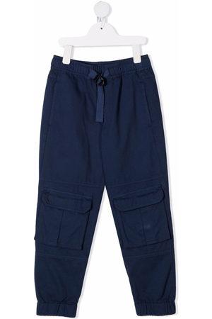 Stella McCartney Kids Boys Cargo Pants - Twill cargo trousers