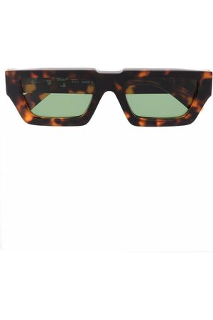 Off-White MANCHESTER SUNGLASSES BROWN GREEN