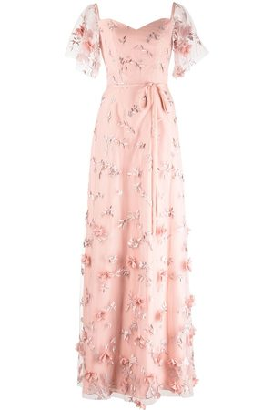 Marchesa Notte Women Evening Dresses - Portici embroidered bridesmaid gown