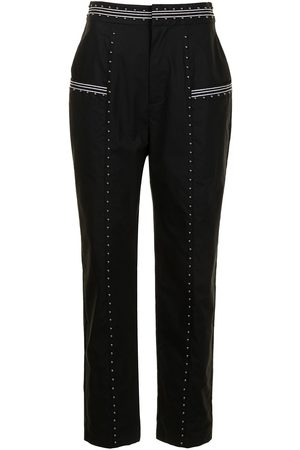 Twin-Set Studded tapered trousers