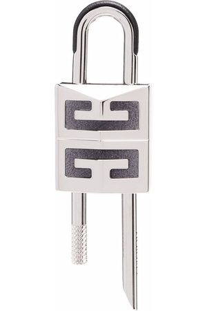Givenchy Men Keychains - Logo-print padlock