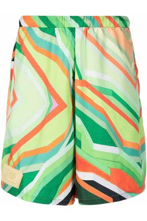 Formy Studio Men Bermudas - Abstract-print shorts