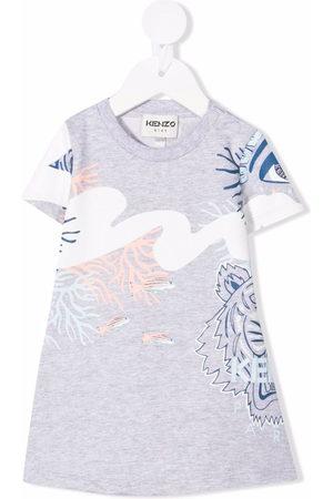 Kenzo Tiger-print T-shirt dress