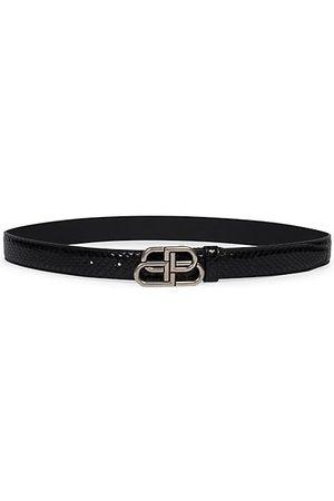 Balenciaga Belts - BB Leather Belt
