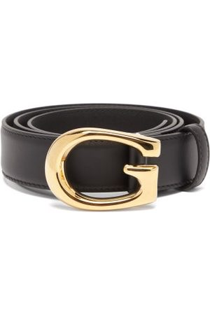 Gucci - G-buckle Leather Belt - Mens