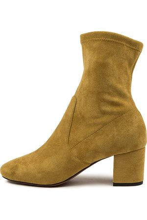 Mollini Women Ankle Boots - Careful Chartreuse Boots Womens Shoes Casual Ankle Boots
