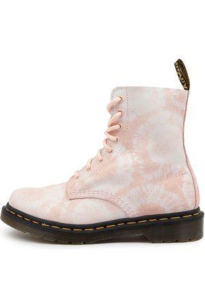 Dr. Martens Women Ankle Boots - 1460 Pascal Tie Dye Dm Shell Tie Die Boots Womens Shoes Casual Ankle Boots
