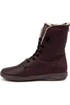 Django & Juliette Rifty Dj Fur Boots Womens Shoes Casual Calf Boots
