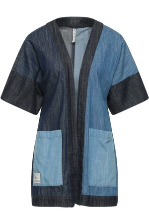 Manila Grace Women Outdoor Jackets - Denim outerwear