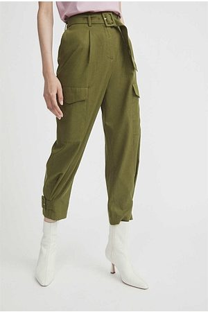 WITCHERY Belted Cargo Pant