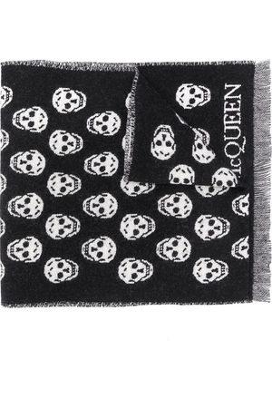 Alexander McQueen Skull jacquard-woven scarf