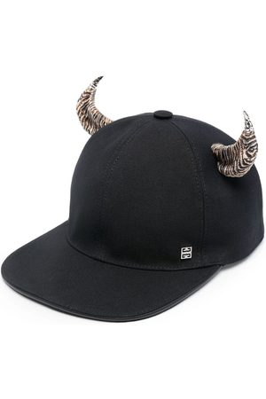 Givenchy Horn-detail canvas cap
