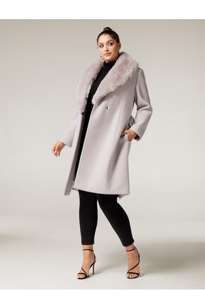 Forever New Eve Curve Maxi Wrap Coat