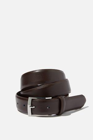 Cotton On Men Men Belts - Dress Belt - Chocolate/