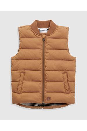 COUNTRY ROAD Rib Nylon Vest - Coats & Jackets Rib Nylon Vest