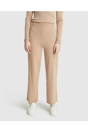 Oxford Aria Knitted Lounge Pants - Sweatpants Aria Knitted Lounge Pants