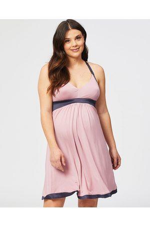 Cake Maternity Strawberry Gateau Maternity & Nursing Chemise - Sleepwear Strawberry Gateau Maternity & Nursing Chemise