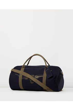 R.M.Williams Nanga Canvas Bag - Duffle Bags (Navy & Silt) Nanga Canvas Bag