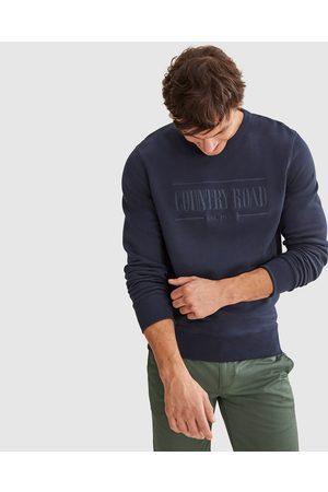 COUNTRY ROAD Verified Australian Cotton Heritage Sweat - Sweats (navy) Verified Australian Cotton Heritage Sweat