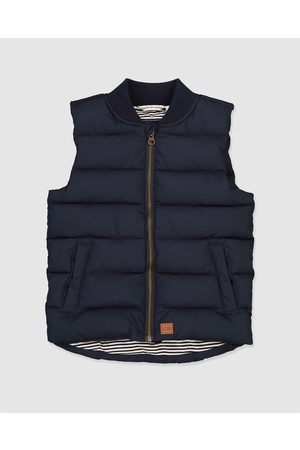 COUNTRY ROAD Rib Nylon Vest - Coats & Jackets (navy) Rib Nylon Vest
