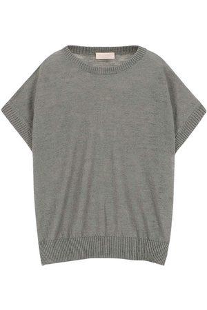 MOMONÍ Caserta sweater in slubbed linen