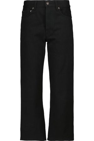 The Row Lesley mid-rise straight jeans