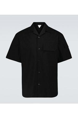 Bottega Veneta Stretch-cotton canvas shirt