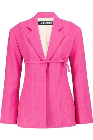 Jacquemus Exclusive to Mytheresa – La Veste Sauge line-blend jacket