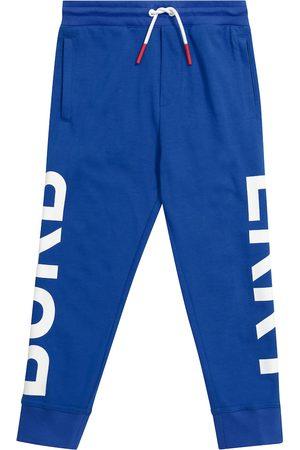 Burberry Boys Joggers - Logo cotton sweatpants
