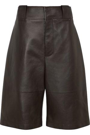 Bottega Veneta Women Culottes - Leather culottes