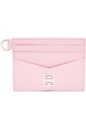 Givenchy 4g Leather Cardholder - Womens