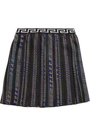 VERSACE Girls Printed Skirts - Printed skirt