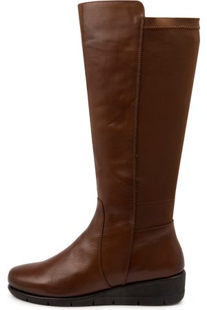 SUPERSOFT Women Ankle Boots - Marcelina Su Brandy Boots Womens Shoes Casual Calf Boots