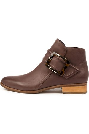 Django & Juliette Women Ankle Boots - Inquest Djl Mocca Boots Womens Shoes Casual Ankle Boots