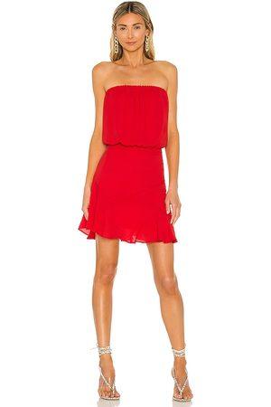 krisa Strapless Mini Dress in .